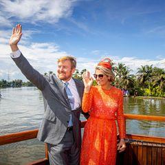 18. Oktober 2019  Auch die schönste Reise geht einmal vorbei: König Willem-Alexander und Königin Máxima sagen auf Wiedersehenbevor es zurück nach Hause in die Niederlande geht.