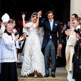 Ein Hoch auf das Brautpaar!