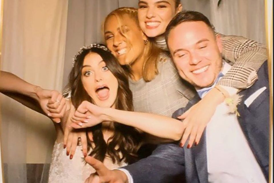Vanessa Stanat bei ihrer Hochzeit.