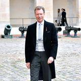 Auch der Großherzog Henri von Luxemburg gibt sich die Ehre.