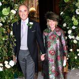 Hochzeiten machen glücklich, das kann man an den Gesichtern von Erzherzog Lorenz und Prinzessin Astrid nach der Trauung sehr schön sehen.