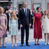 """Richtig glamourös zeigt sich die spanische Königsfamilie bei der Verleihung des """"Princesa de Asturias""""-Awards imCampoamor Theater von Oviedo."""
