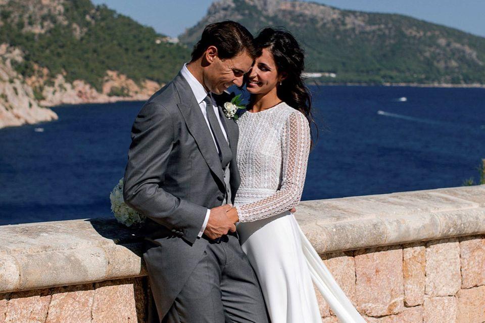Rafael Nadal undMaria Francisca Perellóhaben nach 14 Jahren Beziehung geheiratet.