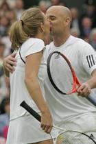 Steffi Graf + Andre Agassi: Seltene Aufnahmen zeigen das Paar ganz privat