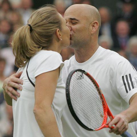 Wimbledon: Stars im Tennisfieber