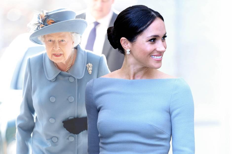 Queen Elizabeth, Herzogin Meghan