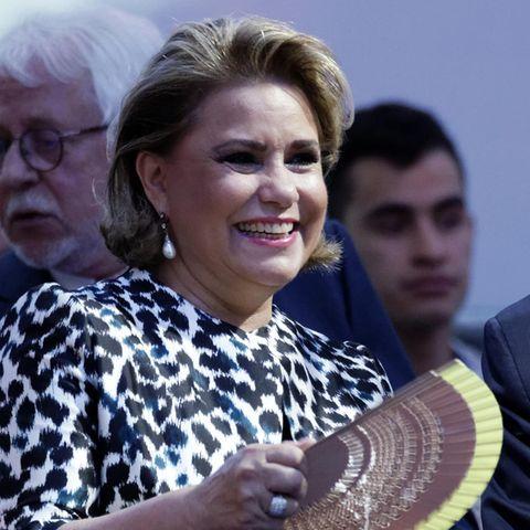 Großherzogin Maria Teresa von Luxemburg ist eine engagierte Landesmutter