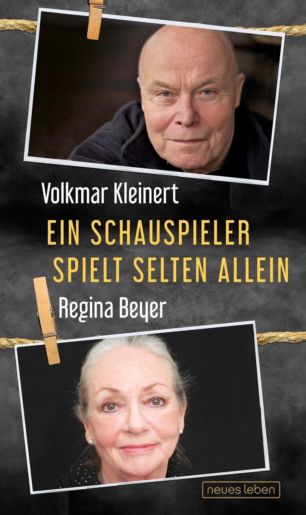 Volkmar Kleinert und Regina Beyer schreiben nicht nur zusammen, sondern sind auch inzwischen verheiratet.