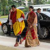 Zahlreiche Royals sind zu den Feierlichkeiten gekommen, so auch das schöne Königspaar aus Bhutan, König Jigme und Königin Jetsun.