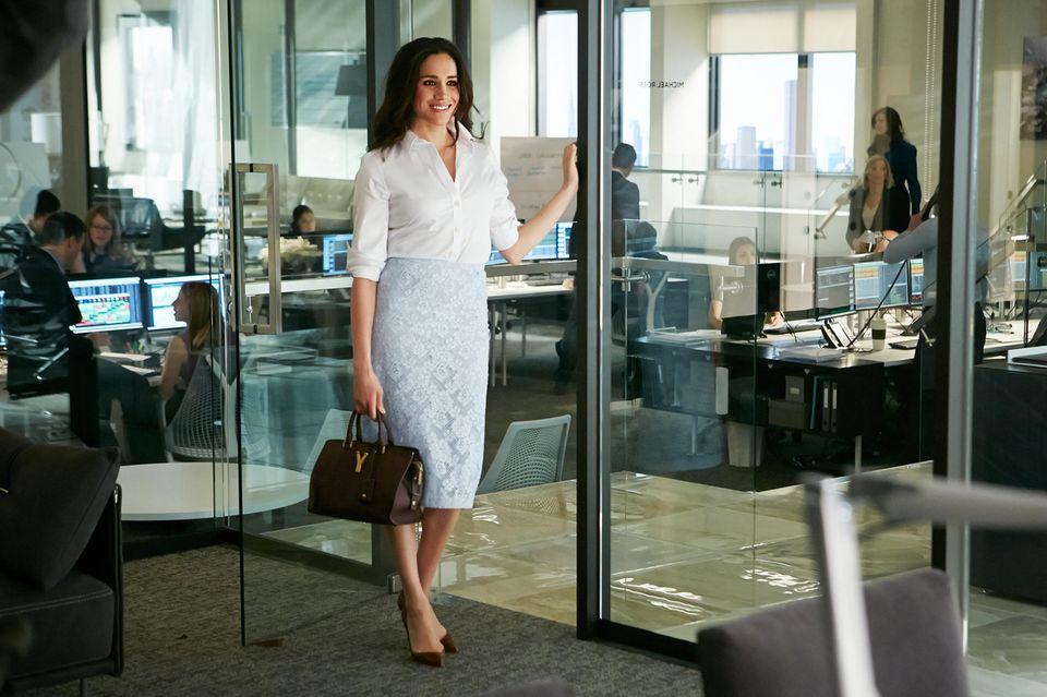 """Meghan Markle spielte von 2011 bis 2017 in der TV-Serie """"Suits""""."""