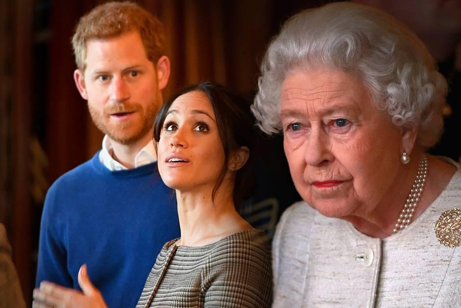 Prinz Harry, Herzogin Meghan, Queen Elizabeth