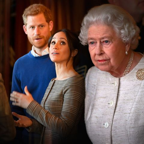 Prinz Harry, Herzogin Meghan, Queen Elizabeth