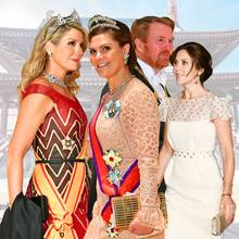 Prinzessin Victoria, Königin Maxima, Prinzessin Mary