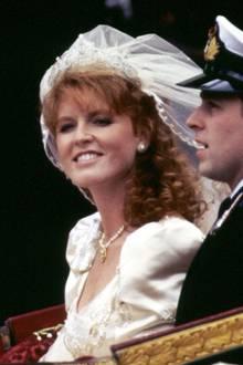 """Sarah Ferguson trägt das""""York Diamond Diadem"""""""
