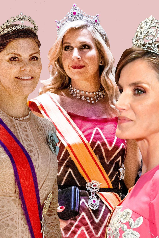 Prinzessin Victoria, Königin Máxima + Königin Letizia