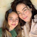 Einen hübschen Anblick bieten Michelle Monaghan und ihreTochter Willow, die ihrer Mama wie aus dem Gesicht geschnitten ist.