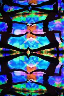 """Bild einer Aufführung in der """"Camera Obscura & World of Illusions""""-Ausstellung."""