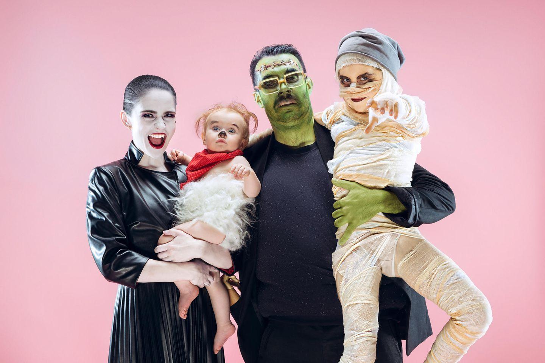 Einfache Halloween-Kostüme, Halloween-Kostüm, Halloween, Halloween-Party