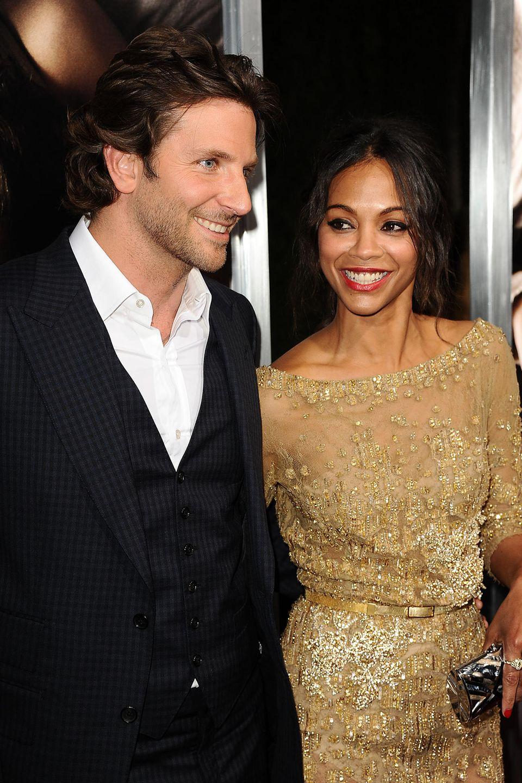 Bradley Cooper und ZoeSaldana