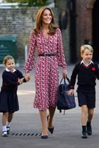 Prinzessin Charlotte, Mama Herzogin Catherine und Bruder Prinz George