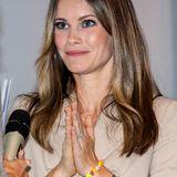 Mit einem ganz besonderen Schmuckstück wird Prinzessin Sofia bei einer Konferenz in Stockholm gesichtet: Ihrlinkes Handgelenkziert nämlich ein Armband aus bunten Spielzeugperlen. Womöglich ein Geschenk ihres ältesten Sohnes, Prinz Alexander?