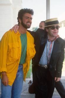 George Michael, Elton John