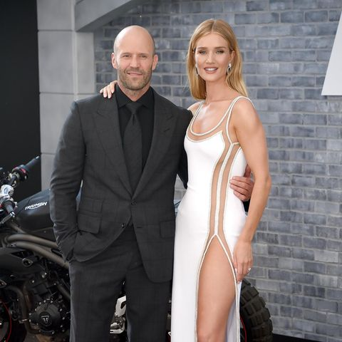 Jason Statham + Rosie Huntington-Whiteley