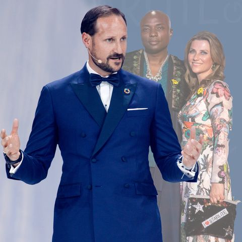 Prinz Haakon, Derek Verret, Prinzessin Märtha Louise