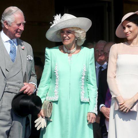 Prinz Charles, Herzogin Camilla, Herzogin Meghan