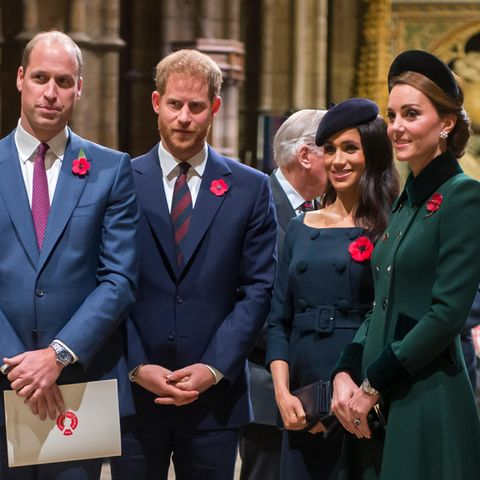Prinz William, Prinz Harry, Herzogin Meghan, Herzogin Kate