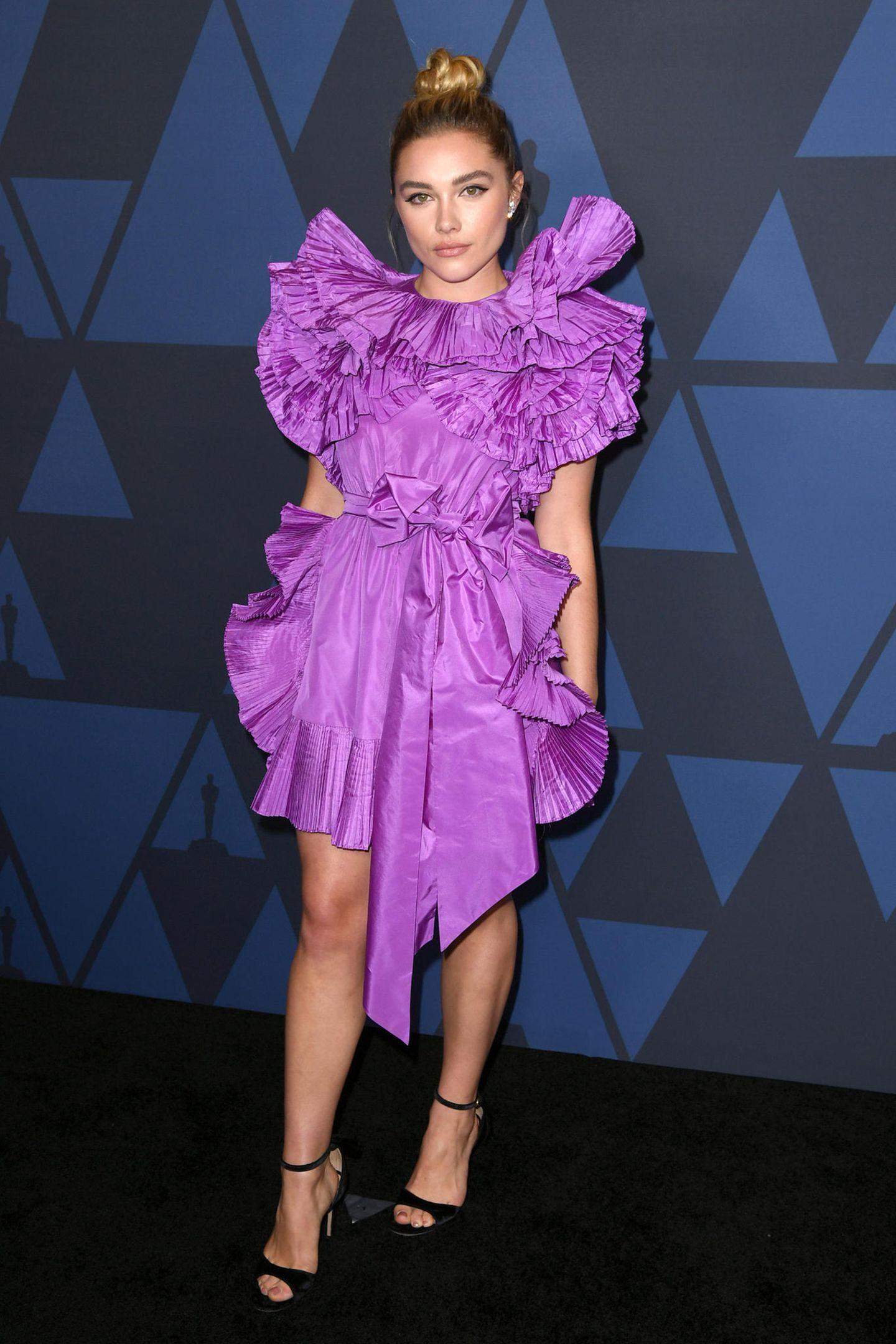Violette Volants: Florence Pughin Valentino