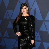 Glamour ganz in Schwarz: Idina Menzel