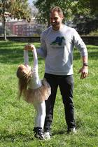 Familie Hunziker in Bergamo:Papa ist der Stärkste!