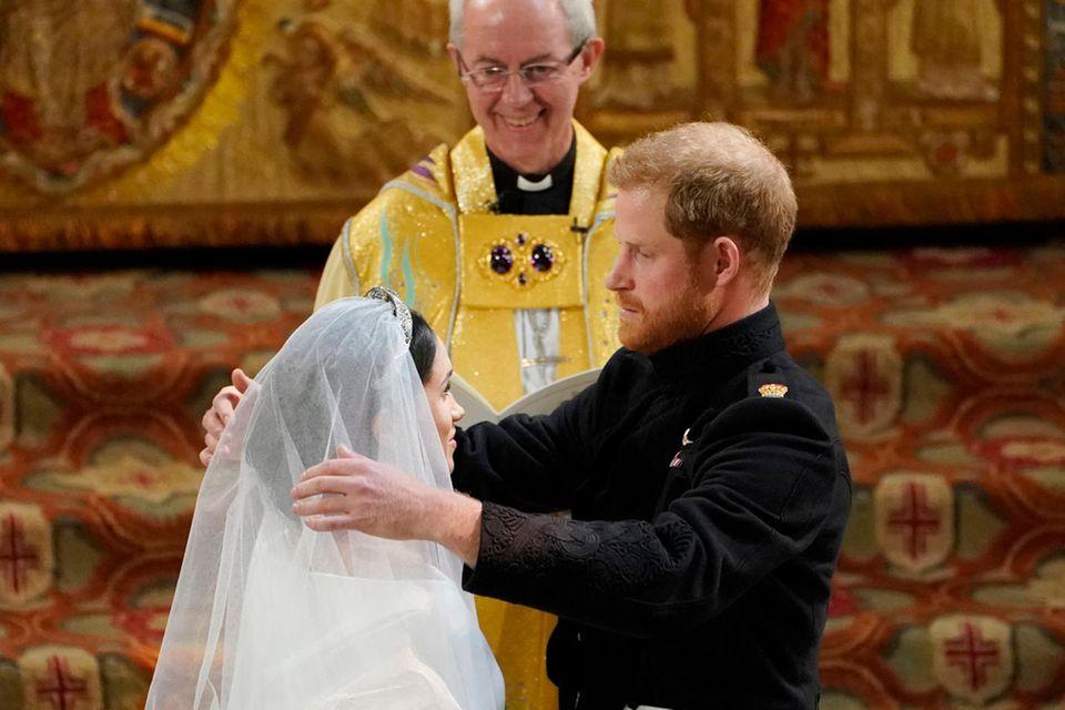 Herzogin Meghan, Prinz Harry und der Erzbischof von Canterbury