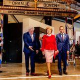 25. Oktober 2019  Prinzessin Margriet eröffnet im niederländischen Niuewdorp das Befreiungsmuseum Zeeland.