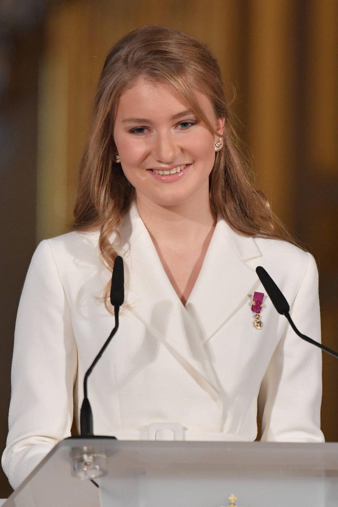 25. Oktober 2019  An ihrem 18. Geburtstag hält Prinzessin Elisabeth von Belgien eine bewegende Rede in drei Landessprachen.