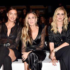 Bei der Intimissimi Fashion Show 2019 in Verona versprüht die Front Row absoluten Glamour ...