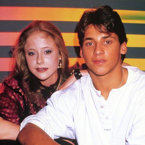 Silvia Seidel und Patrick Bach im Jahr 1987