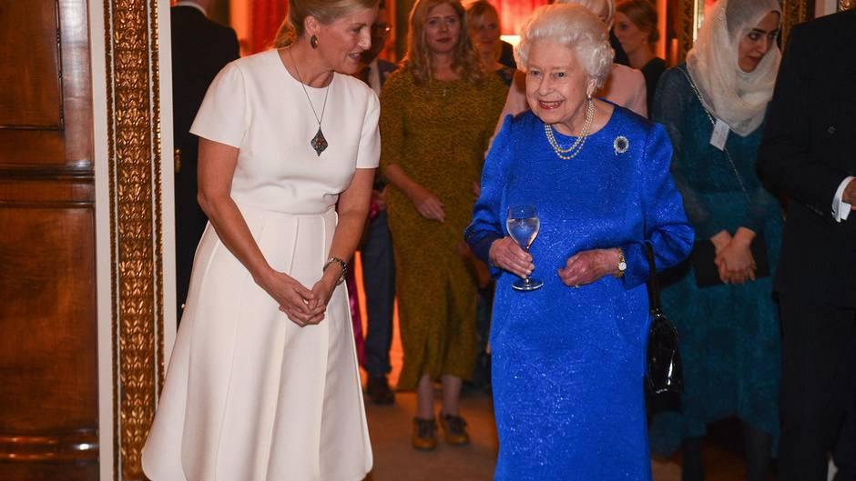 Gräfin Sophie von Wessex und Queen Elizabeth