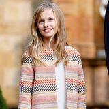 31. Oktober 2019  Prinzessin Leonor von Spanien feiert heute ihren 14. Geburtstag. Wir gratulieren herzlich!