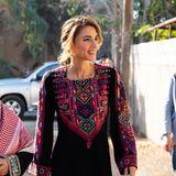 Königin Rania von Jordanien soll bei einer Größe von 1,67 Meter etwa 55 Kilogramm auf die Waage bringen.