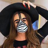 Daniela Katzenberger war kreativ: Herausgekommen ist diese tolle Halloween-Kreation.