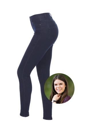 Die Super StretchyJeans des LabelsBumbum bringt einfach alles mit, was eine perfekte Jeans haben sollte: TolleWaschung, figurschmeichelnder High-Waist-Schnitt sowie drei Prozent Elasthan.