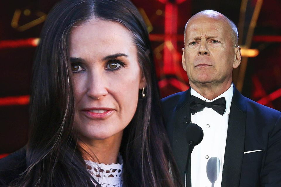 Demi Moore und Bruce Willis