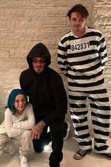 31. Oktober 2019  Ganz gefährlich: Wären sie nicht die Beckhams, würden wir diesen Figuren lieber nicht nachts begegnen wollen.