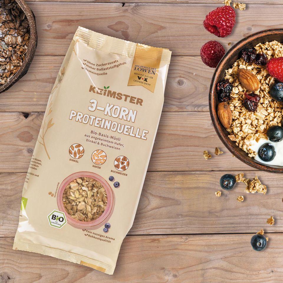 Keimster 3-Korn Proteinquelle
