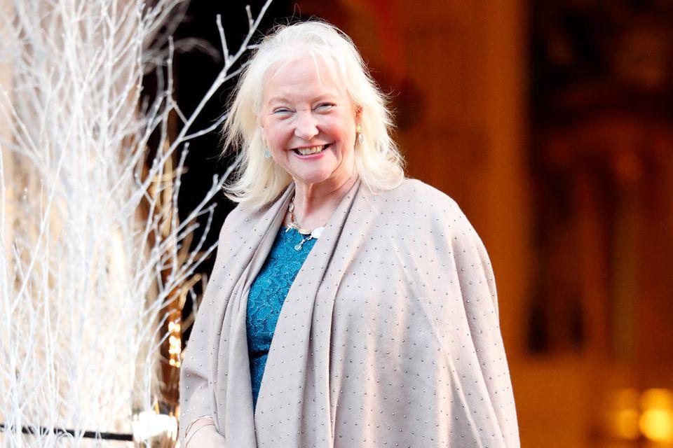 Angela Kelly, die Stylistin von Queen Elizabeth.