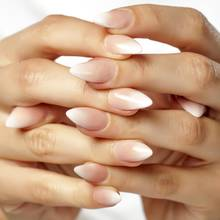 Babyboomer Nails sind aktuell der angenagteste Nageltrend aus den USA.