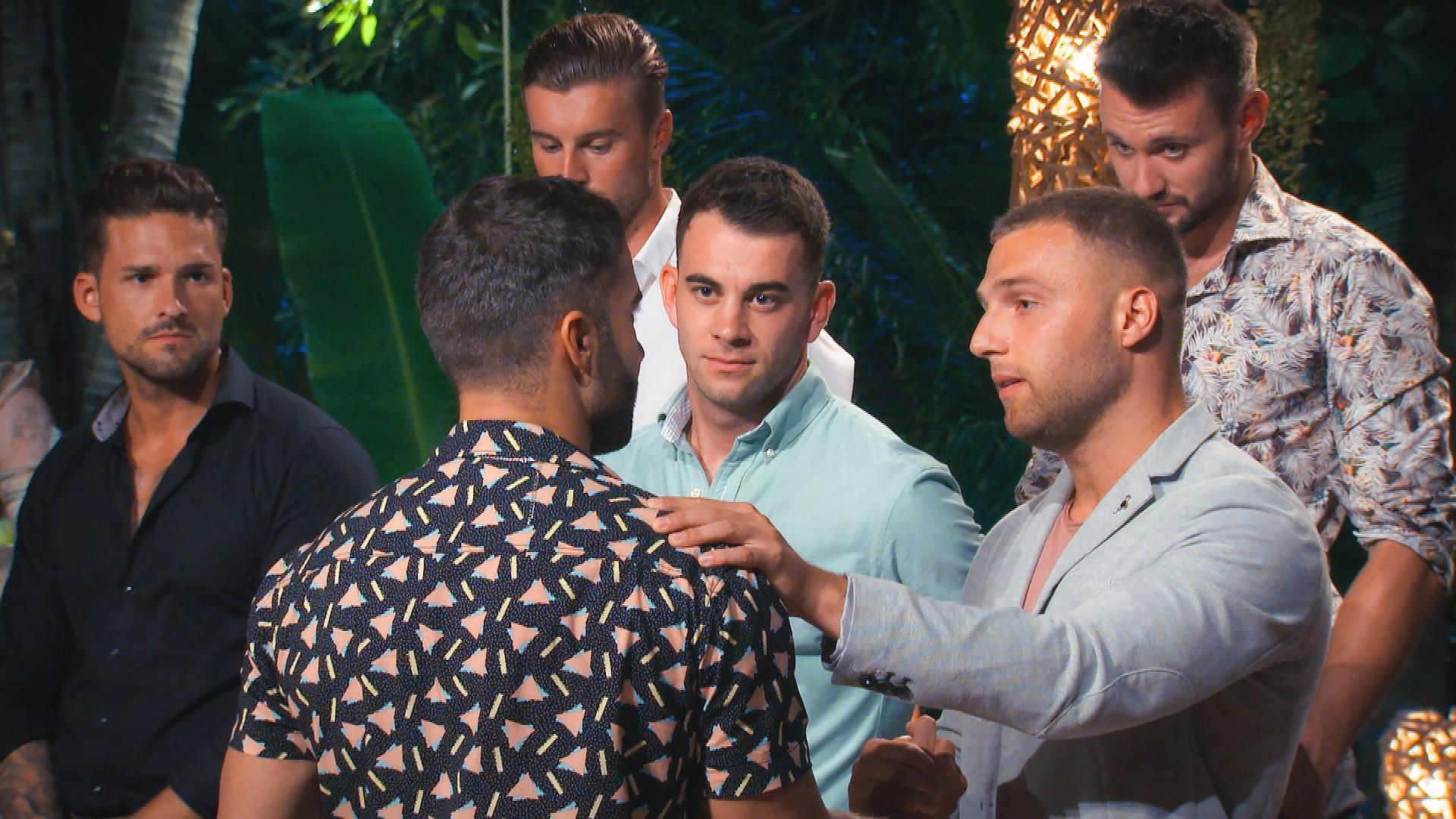 "Marco, Rafi, Alex, Serkan, Filip, Michi von ""Bachelor in Paradise"""