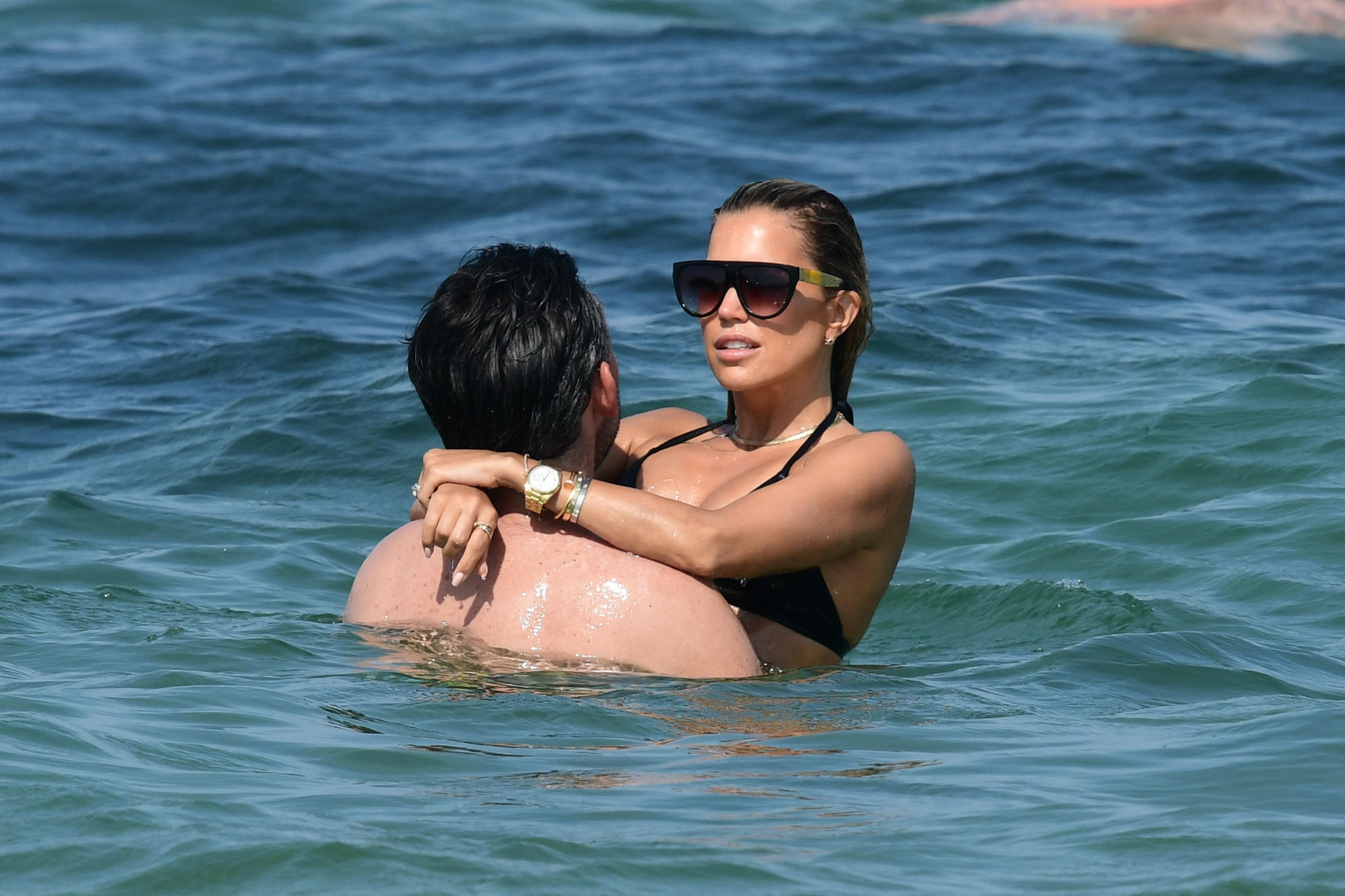 In Saint-Tropez machten Sylvie und Niclas ihre Liebe offiziell